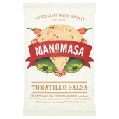 Manomasa Tomatillo Salsa Tortilla Chips