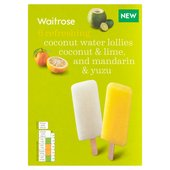 Waitrose Coconut Water Lollies