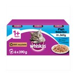 Whiskas Cat Tins Fish Selection in Jelly