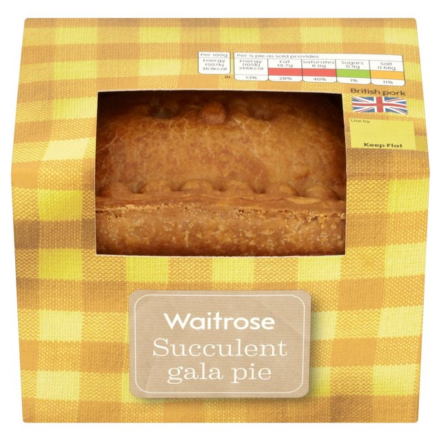 Waitrose Pork & Egg Gala Pie