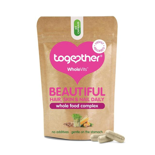 Together WholeVit Beautiful Hair, Skin & Nails Capsules