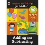 Ladybird I'm Ready for Maths Adding & Subtracting Book