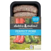 Debbie & Andrew's Perfect Pork Sausages