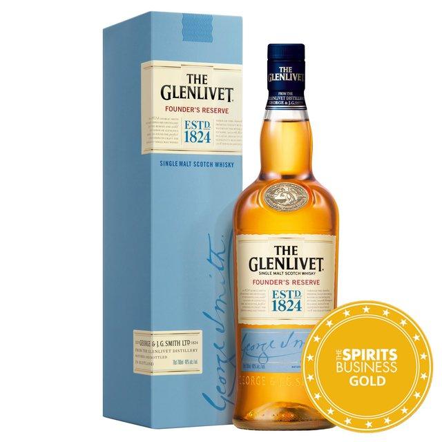 The Glenlivet Founder's Reserve Single Malt Whisky 35cl