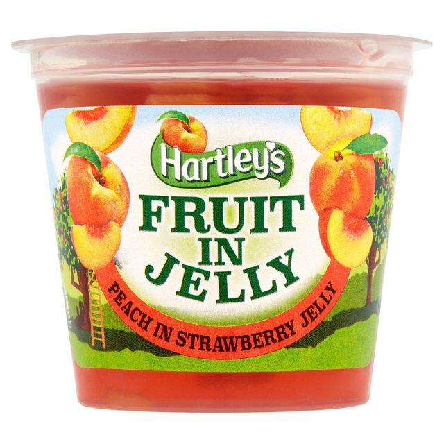 Hartley's Fruit in Jelly Peach in Strawberry Jelly