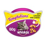 Whiskas Temptations Cat Treats with Chicken & Cheese