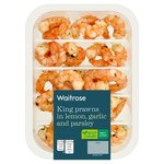 Waitrose King Prawns in Lemon, Garlic & Parsley