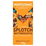 Montezuma's Organic Milk Chocolate with Butterscotch