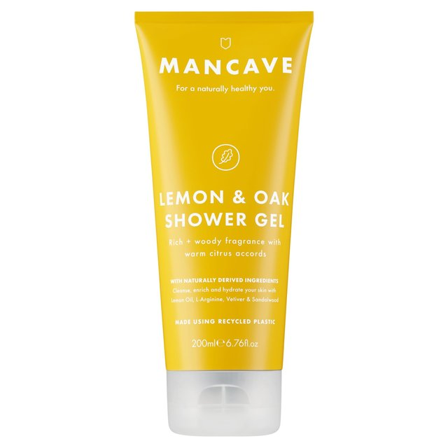 ManCave Lemon & Oak Shower Gel
