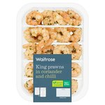 Waitrose King Prawns Coriander & Chilli