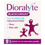 Dioralyte Blackcurrant Sachets