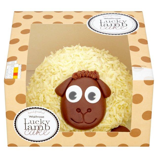 Waitrose Lucky Lamb Cake 12 Servings from Ocado
