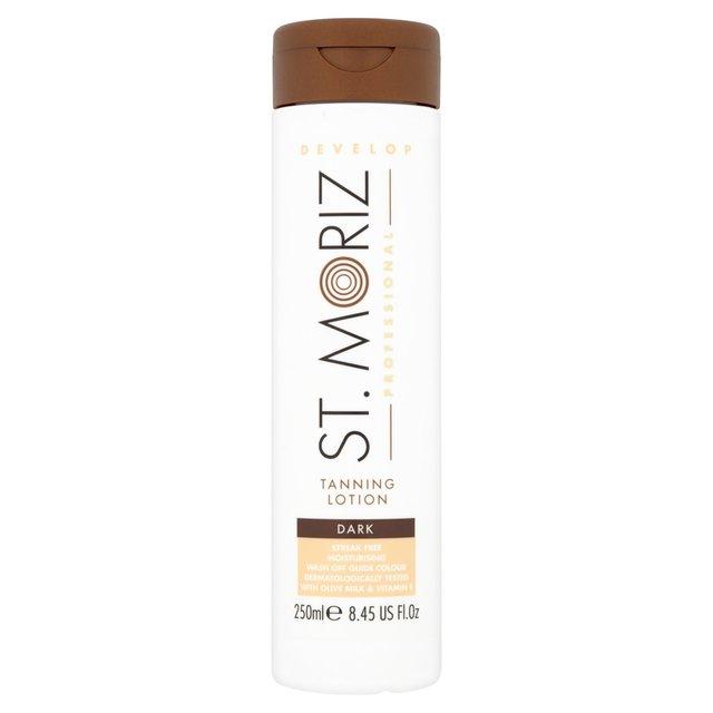 st moriz professional tanning lotion dark 250ml from ocado. Black Bedroom Furniture Sets. Home Design Ideas