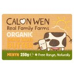 Calon Wen Organic Slightly Salted Butter