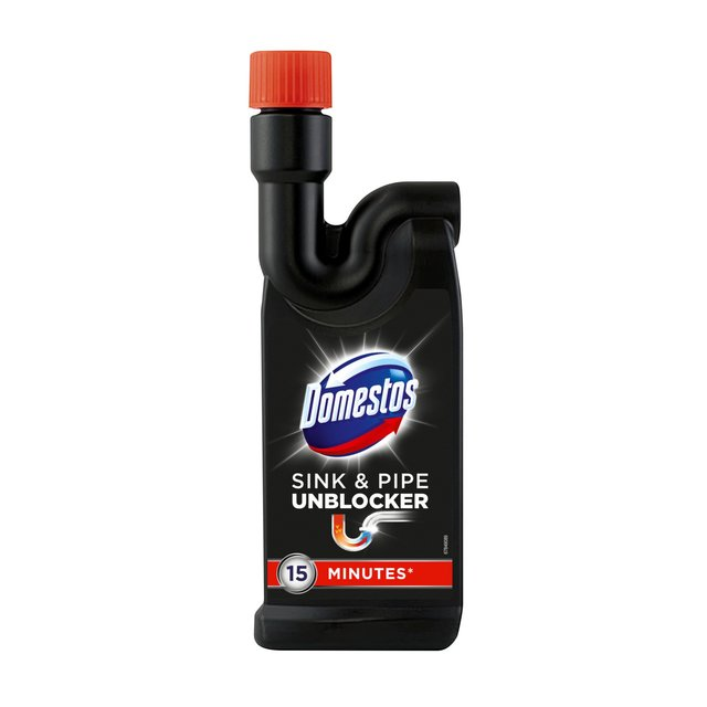 Kitchen Sink Unblocker: Ocado: Domestos Sink & Pipe Unblocker 500ml(Product