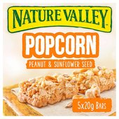 Nature Valley Popcorn Peanut & Seeds Cereal Bars