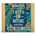 Faith in Nature Blue Cedar Pure Hand Made Soap Bar