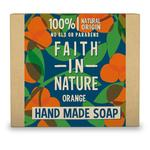 Faith in Nature Orange Pure Hand Made Soap Bar