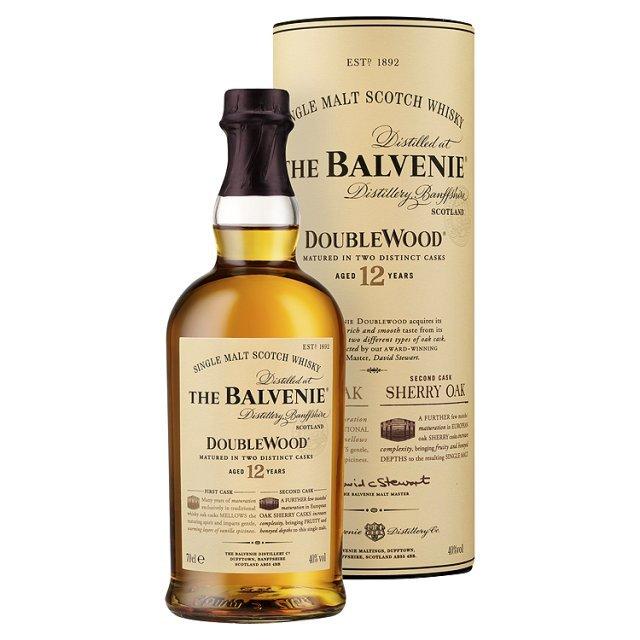Balvenie 12-yr doublewood single malt
