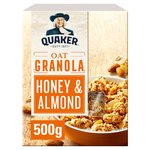 Quaker Oat Granola Honey & Almond