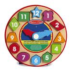 Melissa & Doug Shape Sorting Clock, 3yrs+