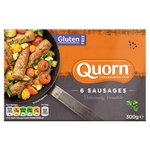 Quorn Meat Free, Gluten Free Sausages