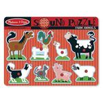 Melissa & Doug Farm Animals Sound Puzzle, 2yrs+