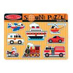 Melissa & Doug Vehicles Sound Puzzle, 3yrs+