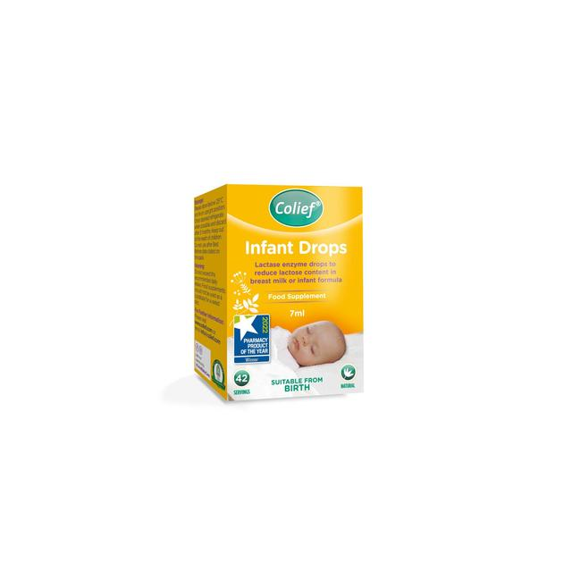effect of colief infants drops lactose on intolerant babies Lactose intolerance is actually very rare as something babies are born with, but some get temp li as a result of a bug true li would normally show up as failure to thrive as well as distress.