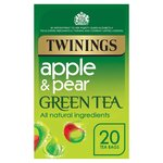 Twinings Apple & Pear Green Tea Bags