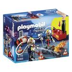 Playmobil Firefighter with Pump 5+