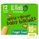 Ella's Kitchen Apple & Ginger Baby Biscuits