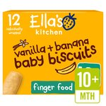 Ella's Kitchen Bananas & Vanilla Baby Biscuits