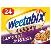 Weetabix Additions Raisin & Coconut