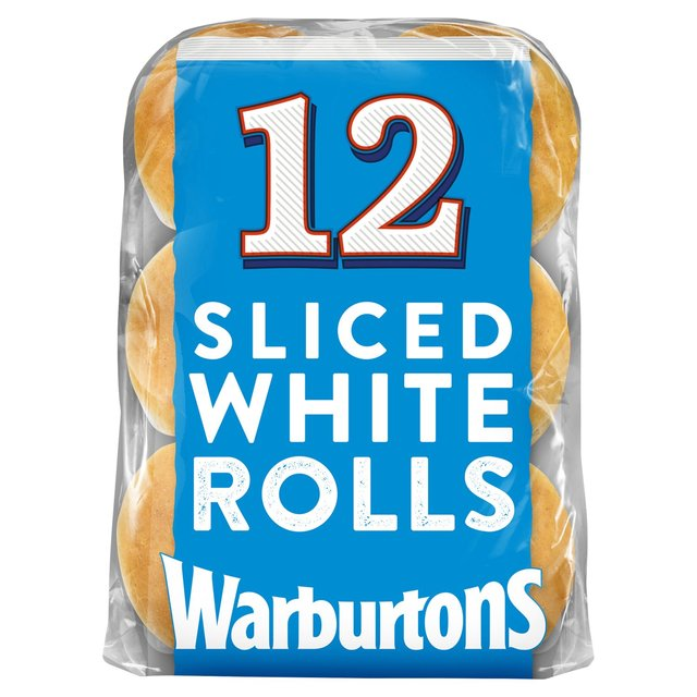 Warburtons Sliced Sandwich Rolls