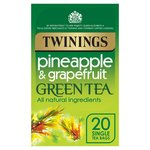 Twinings Pineapple & Grapefruit Green Tea Bags