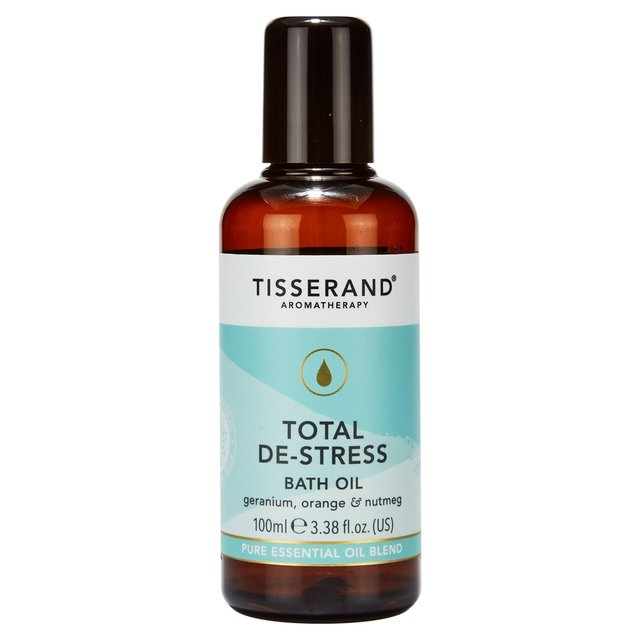 Tisserand Total De-Stress Bath Oil