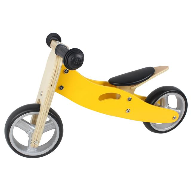 81ad0cf7295 2 in 1 Balance Bike Yellow, 18mths+ from Ocado