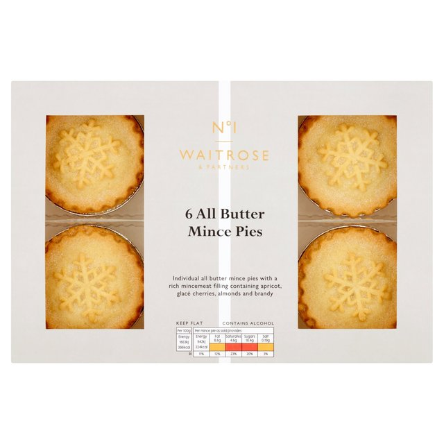 Waitrose Luxury All Butter Mince Pies