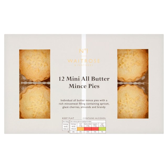 Waitrose Luxury Mini All Butter Mince Pies