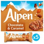 Alpen Caramel & Chocolate bars
