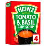 Heinz Cream of Tomato with a Hint of Basil Dry Cup Soup