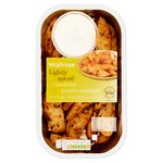 Waitrose Aromatic Potato Wedges with Sour Cream Dip