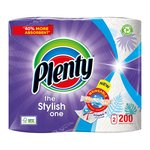 Plenty Decorated Kitchen Roll 200 Sheets