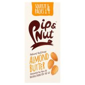 Pip & Nut Almond Butter Squeeze Pack Multipack