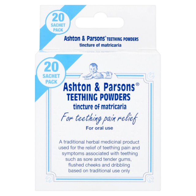 Ashton & Parsons Infants' Teething Powders