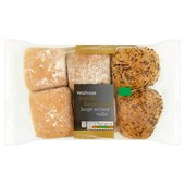 Waitrose Fresh & Flavoursome Large Mixed Rolls