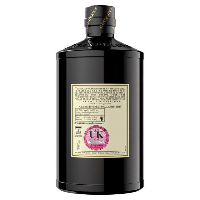 hendrick 39 s gin 70cl from ocado. Black Bedroom Furniture Sets. Home Design Ideas