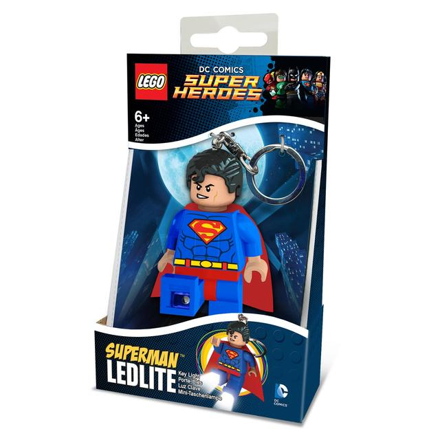 LEGO Key Lights DC Superheroes Superman Key Light, 6yrs+
