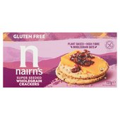 Nairn's Gluten Free Seeded Cracker